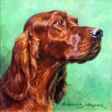 Frederick J. Haycock Red Setter